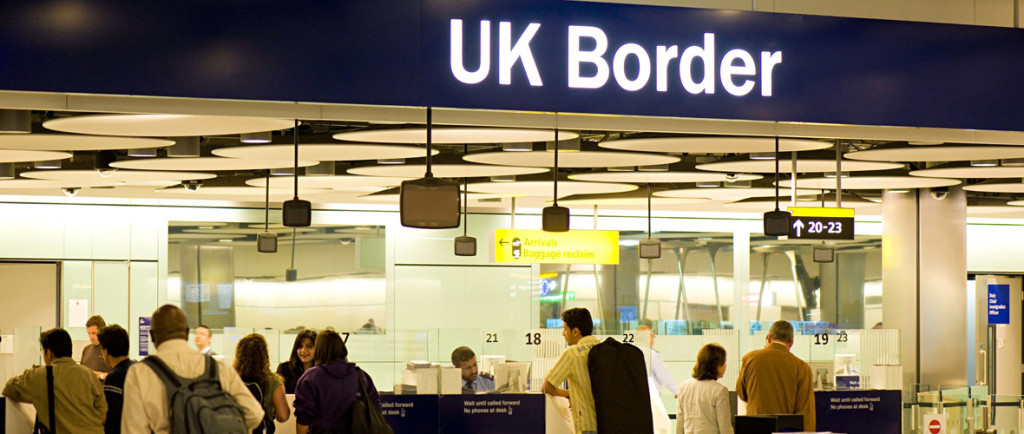 Controle Imigratório Britânico - UK Border
